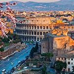 Leuchtkasten Rom