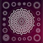 Leuchtkasten Mandala