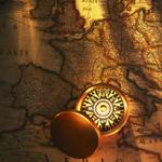 Leuchtkasten Kompass
