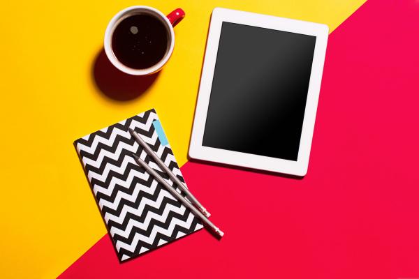 Tablet - Kaffeetasse