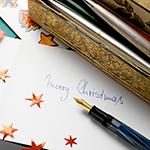 Leuchtkasten Weihnachtskarten